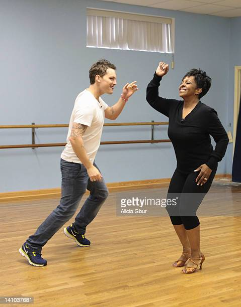 STARS REHEARSALS This season's dynamic lineup of stars will perform either the Foxtrot or the Cha Cha for the first time on live national television...