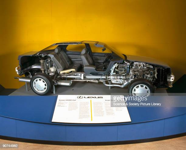 This sectioned Lexus motor car was first shown at the British Motor Show at the NEC Birmingham in September 1990 First introduced in the USA in 1989...