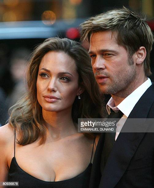 This September 18 2007 file photo shows US actors Brad Pitt and Angelina Jolie arriving for the US premiere of 'The Assassination of Jesse James'...