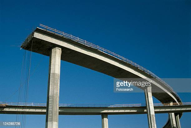 This shows a freeway under construction
