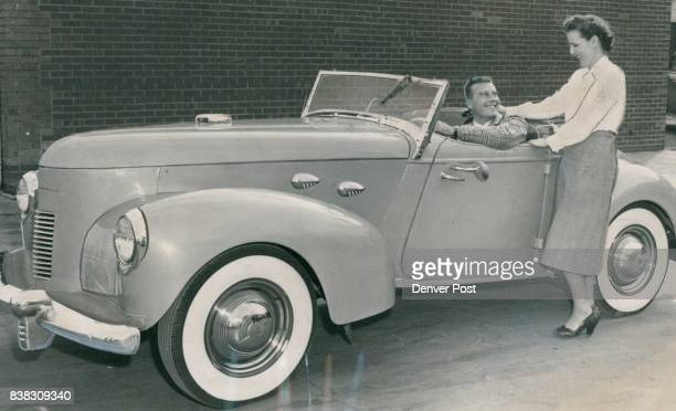 This sleek vehicle is the brainchild of Sam Giberson airline pilot and tormer Denverite who combined parts of various standard autos to get a car...