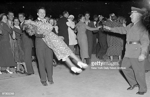 This stage of the Lindy Hop got the gate from the Central Park guards