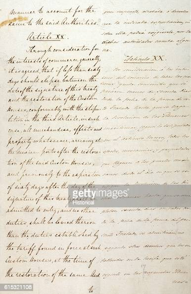This treaty ended the Mexican War and added 1061 square miles to the United States Mexico relinquished all claims to the territory of Texas above the...