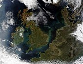 Shown are the United Kingdom, the Republic of Ireland, northern France, Belgium, Luxembourg, Western Germany, the Netherlands, Denmark, Sweden, and Norway. This image was acquired April 6, 2002.
