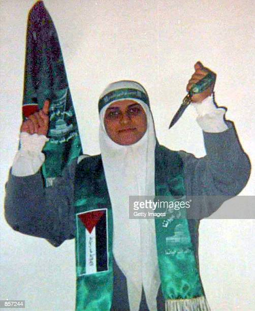 This undated file photo of Dareen Abu Aeshah a 22yearold Palestinian suicide bomber was made available by her family February 28 2002 in the West...