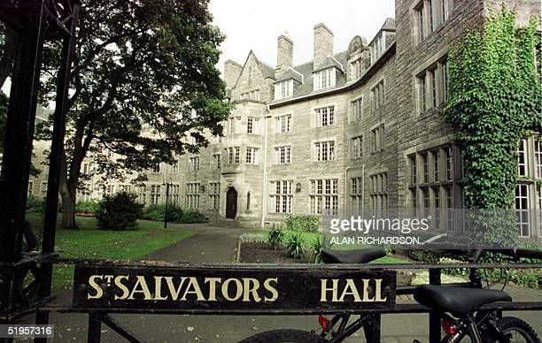 This undated file photo of St Salvators one of the halls of residence of St Andrews University in Fife Scotland where Prince William will study from...