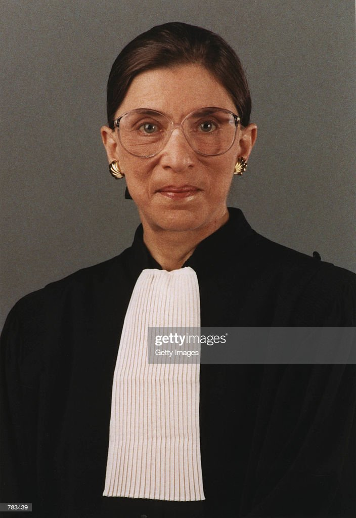 This undated file photo shows Justice Ruth Bader Ginsburg of the Supreme Court of the United States in Washington DC