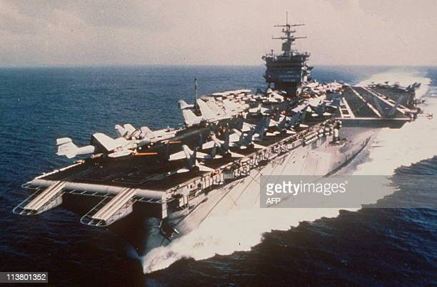 This undated file photo shows the aircraft USS Enterprise during training exercises near Hawaii The Enterprise which is in the Adriatic Sea is the...