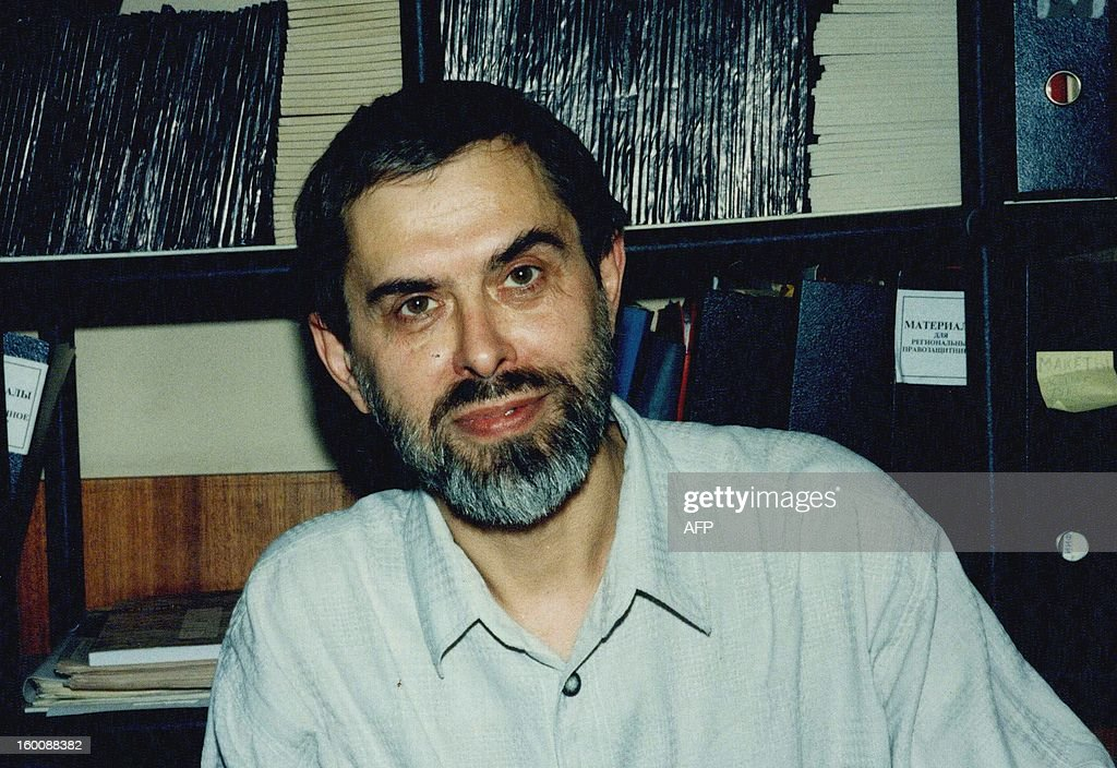 This undated file photo shows Valery Abramkin, a former Soviet political prisoner whose horrifying experiences prompted him to campaign for better prison conditions, who died at 66, the NGO that he headed announced on January 26, 2012. AFP PHOTO / TYURMA I VOLYA