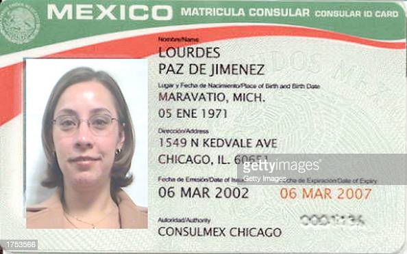 Mexico issues identity cards to citizens living in the u s for Consul license