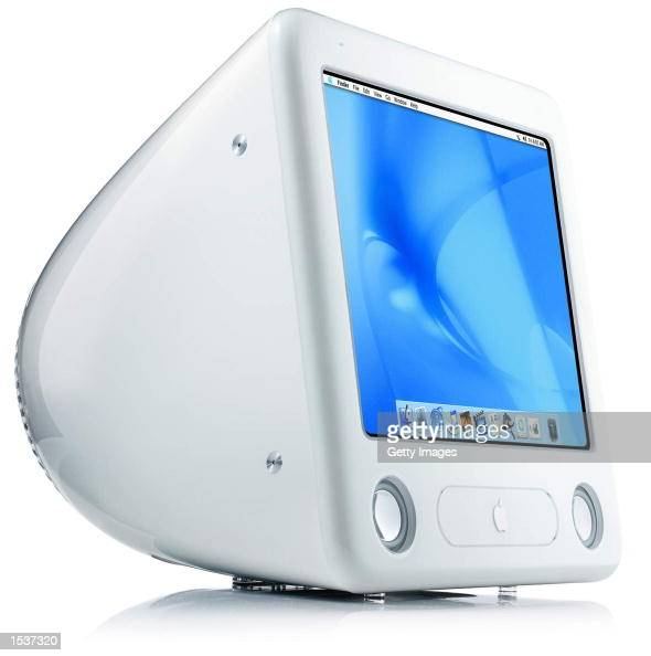 This undated photo shows Apple's new eMac a desktop line designed specifically for education featuring a 17inch flat CRT and a 700 MHz PowerPC G4...