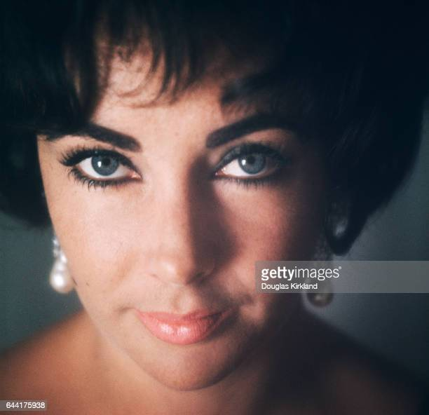 This was Douglas Kirkland's first photo session with Elizabeth Taylor on June 2 1961 photographed for a cover of Look Magazine Elizabeth had not had...