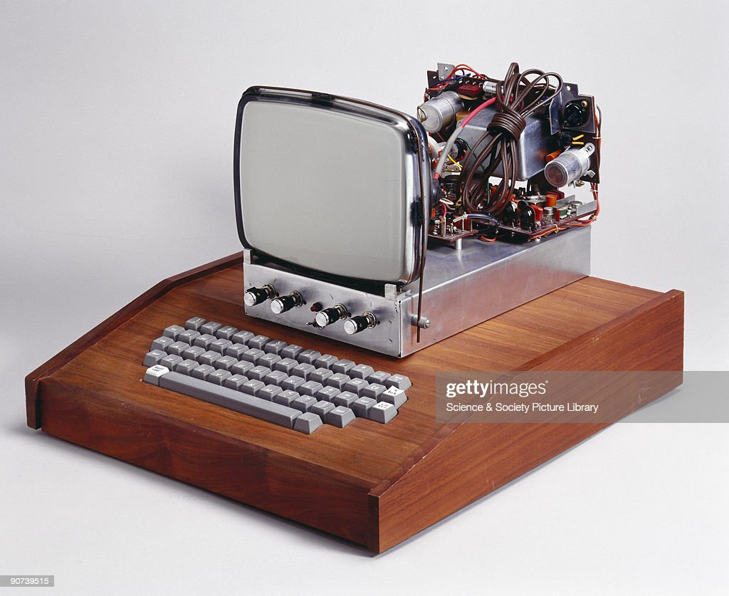 This was the first computer made by Apple Computers Inc, which became one of the fastest growing companies in history, launching a number of innovative and influential computer hardware and software products. Most home computer users in the 1970s were hobbyists who designed and assembled their own machines. The Apple I, devised in a bedroom by Steve Wozniak, Steven Jobs and Ron Wayne, was a basic circuit board to which enthusiasts would add display units and keyboards.