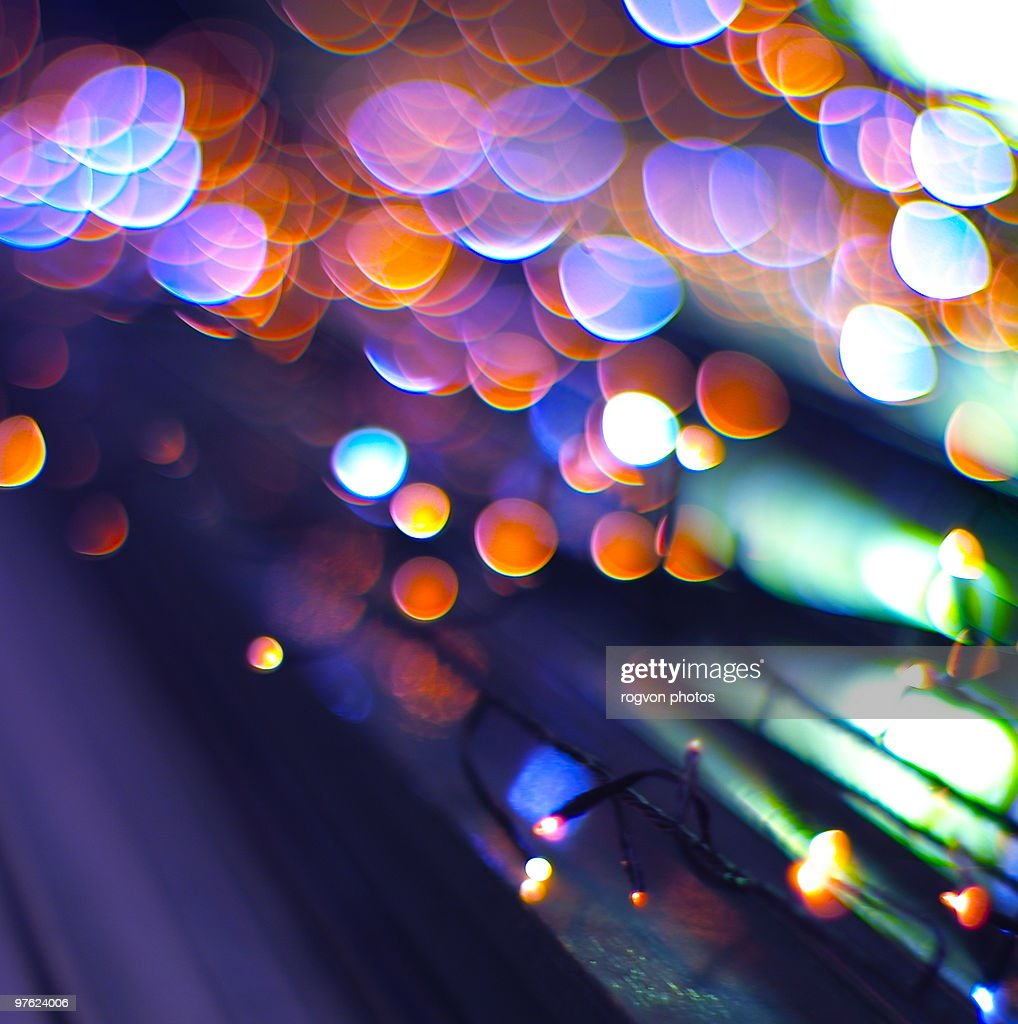 This week 'LED lights & Bokeh'... : Stock Photo