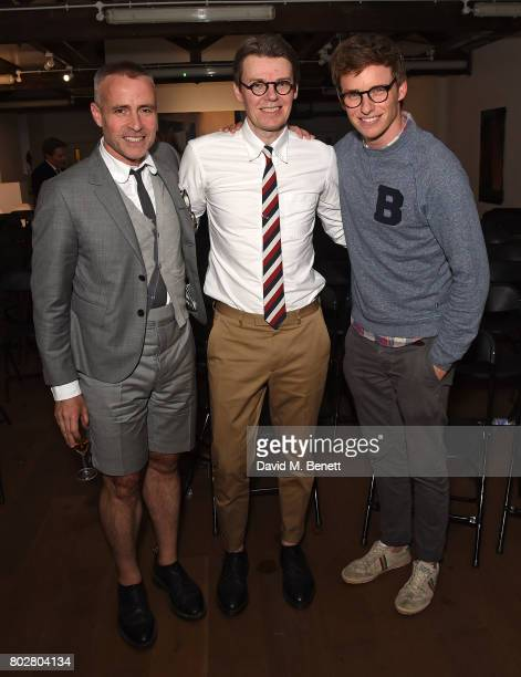 Thom Browne Andrew Bolton and Eddie Redmayne attend The Art Of Curating Fashion with Andrew Bolton presented by Sarabande The Lee Alexander McQueen...