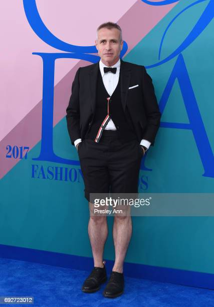 Thom Browne attends the 2017 CFDA Fashion Awards at Hammerstein Ballroom on June 5 2017 in New York City