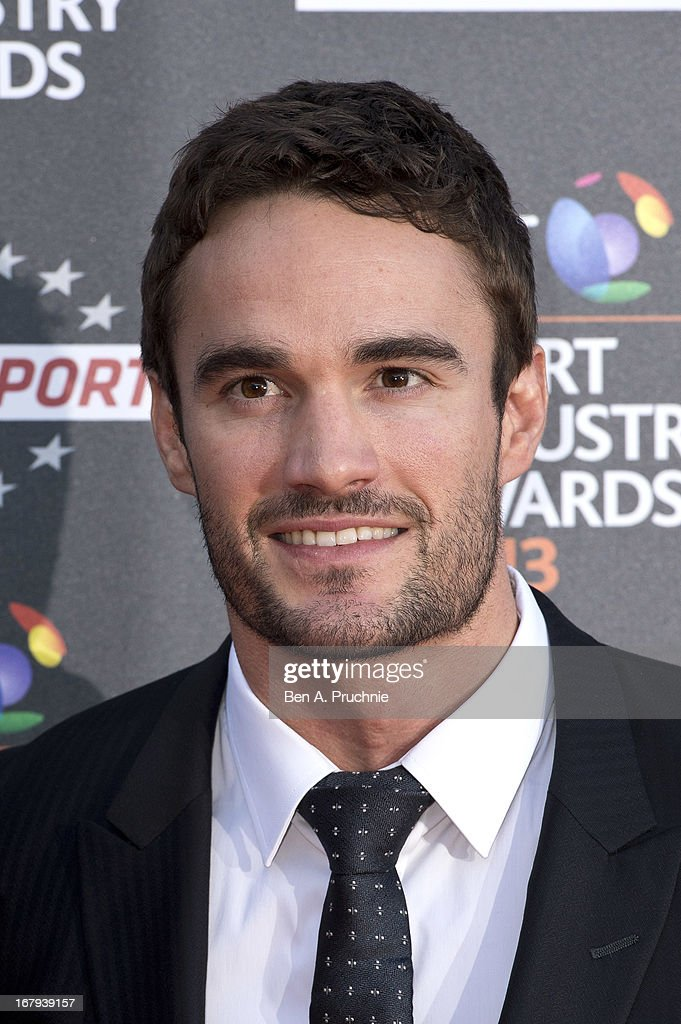<a gi-track='captionPersonalityLinkClicked' href=/galleries/search?phrase=Thom+Evans&family=editorial&specificpeople=825883 ng-click='$event.stopPropagation()'>Thom Evans</a> attend the BT Sports Industry awards at Battersea Evolution on May 2, 2013 in London, England.