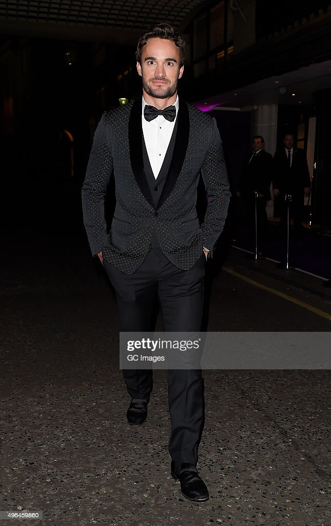 London Celebrity Sightings -  November 9, 2015