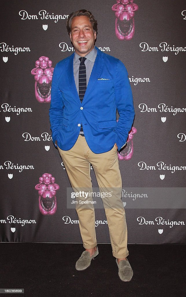 Thom Filicia attends the Dom Perignon Limited Edition Jeff Koons Bottle Launch at 711 Greenwich Street on September 10, 2013 in New York City.