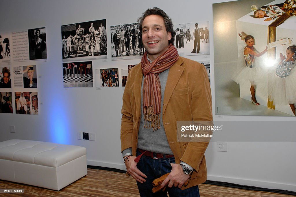 thom filicia attends vogue italia and menu0027s vogue with peroni host u002750 years of italian