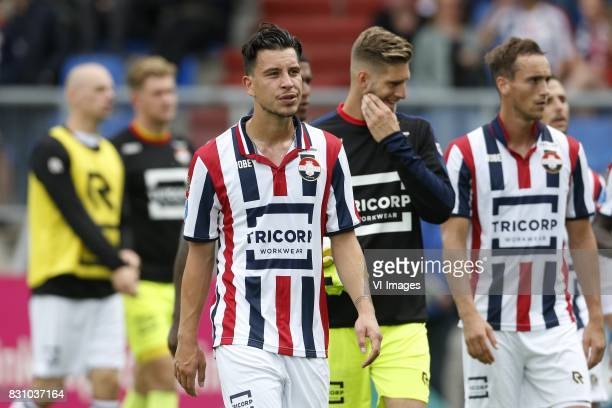 Thom Haye of Willem II during the Dutch Eredivisie match between Willem II Tilburg and sbv Excelsior at Koning Willem II stadium on August 13 2017 in...
