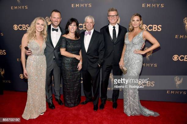 TBS' Thom Hinkle with wife Laura Bell Bundy Turner's David Levy with wife Niki and TNT and TBS' Kevin Reilly and girlfriend Goloka Bolte attends the...