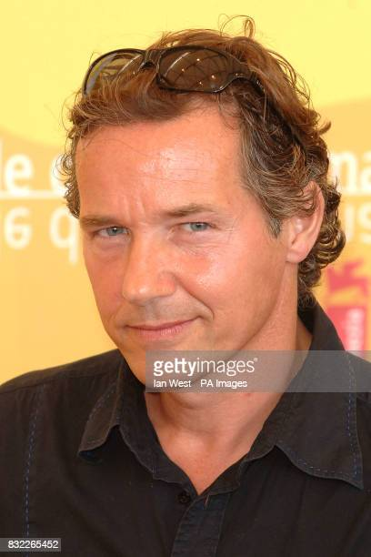 Thom Hoffman is seen at a photocall for new film Zwartboek He was seen at the Palazzo del Casino in Venice during the Venice Film festival Picture...