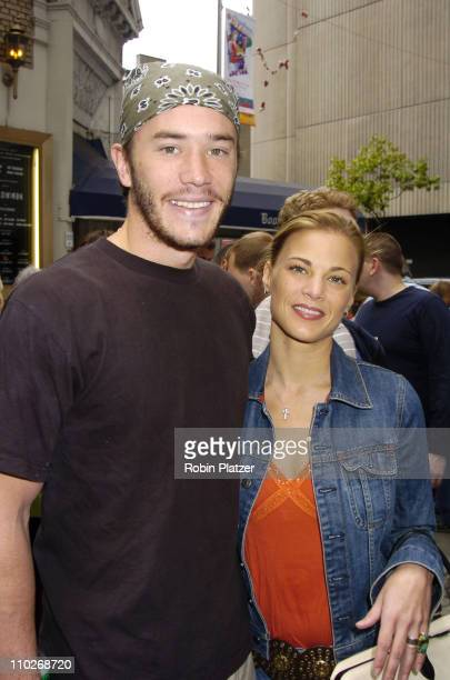 Thom Pelphrey and Gina Tognoni during Broadway Cares/Equity Fights AIDS 19th Annual Flea Market and Celebrity Autograph Table at The Patio at...
