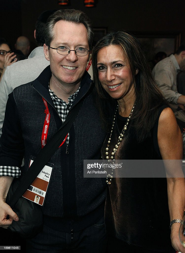 Thom Powers and Lana Ivy attend the HBO Documentary Films Sundance Party on January 20, 2013 in Park City, Utah.