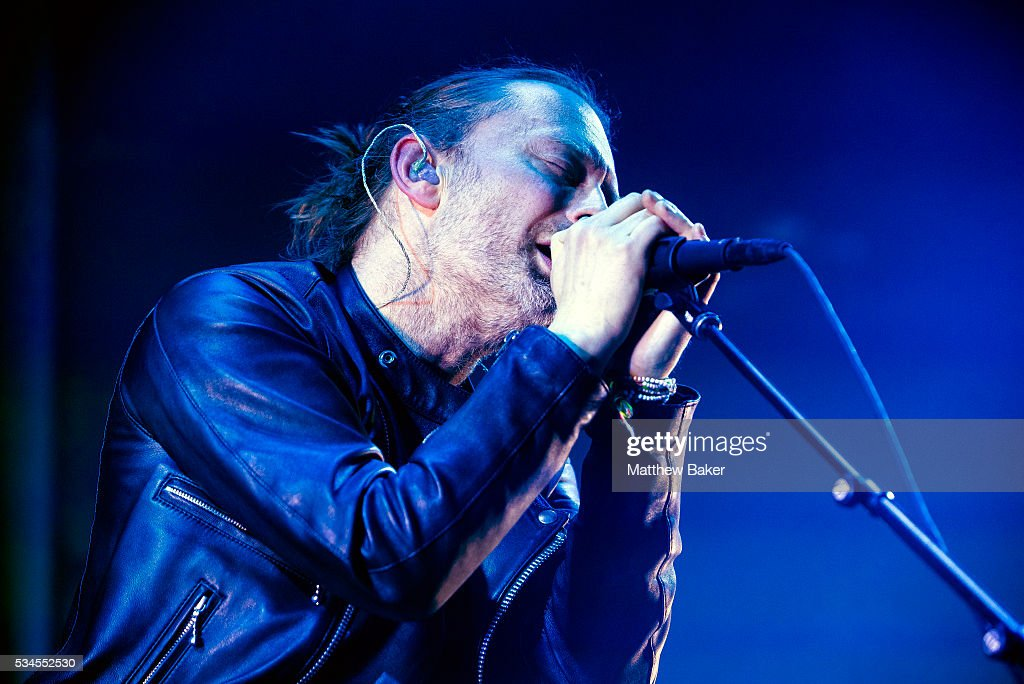 Thom Yorke of Radiohead performs at The Roundhouse on May 26, 2016 in London, England.