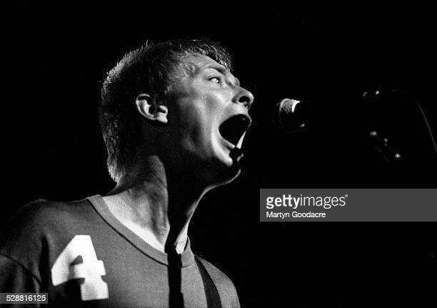 Thom Yorke of Radiohead performs on stage United Kingdom 1995