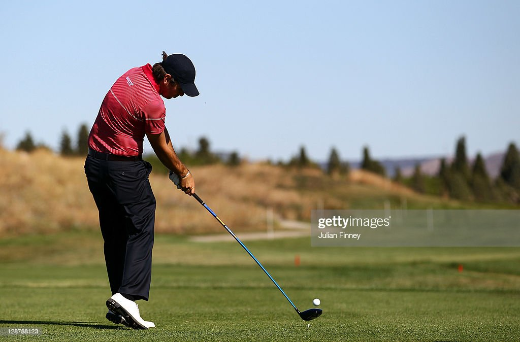 <a gi-track='captionPersonalityLinkClicked' href=/galleries/search?phrase=Thomas+Aiken&family=editorial&specificpeople=2088884 ng-click='$event.stopPropagation()'>Thomas Aiken</a> of South Africa tees off during round three of the Madrid Masters Golf at El Encin Golf & Hotel on October 8, 2011 in Madrid, Spain.