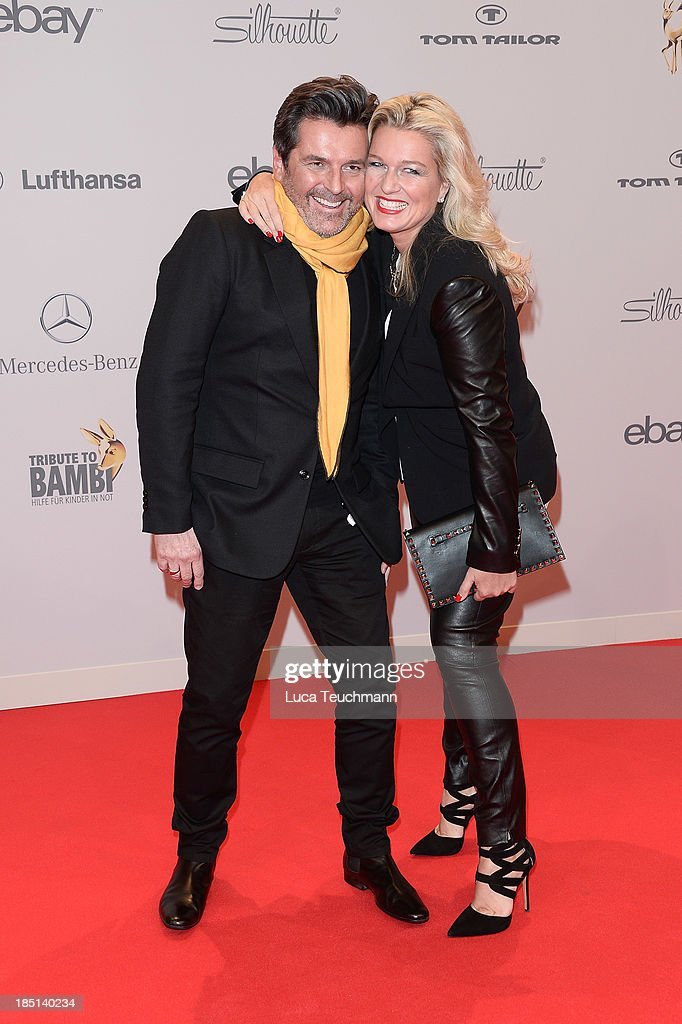 Thomas and Claudia Anders attend the Tribute To Bambi at Station on October 17, 2013 in Berlin, Germany.