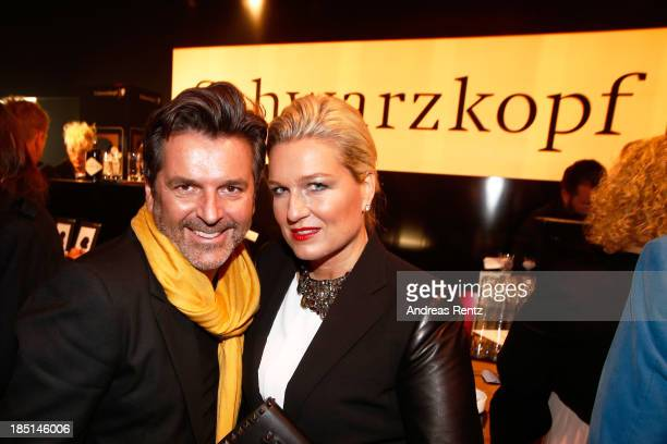 Thomas Anders and Claudia Anders attend the Tribute To Bambi Party at Station on October 17 2013 in Berlin Germany