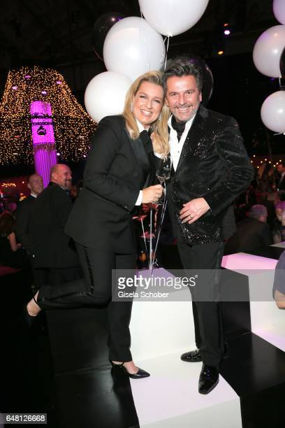 Thomas Anders and his wife Claudia Anders during the Goldene Kamera after show party at Messe Hamburg on March 4 2017 in Hamburg Germany