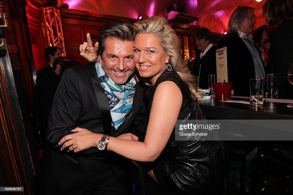 Thomas Anders and wife Claudia attend the Lambertz Monday Night at Alter Wartesaal on January 27, 2014 in Cologne, Germany.