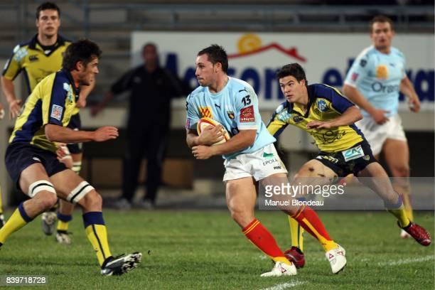 Thomas ANIES Perpignan / Clermont Auvergne Pre saison 2007/2008 match amical
