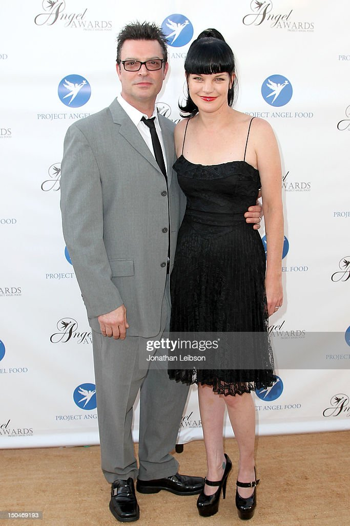 Thomas Arklie and <a gi-track='captionPersonalityLinkClicked' href=/galleries/search?phrase=Pauley+Perrette&family=editorial&specificpeople=625846 ng-click='$event.stopPropagation()'>Pauley Perrette</a> attends the Project Angel Food's Annual Summer Soiree at Project Angel Food on August 18, 2012 in Los Angeles, California.