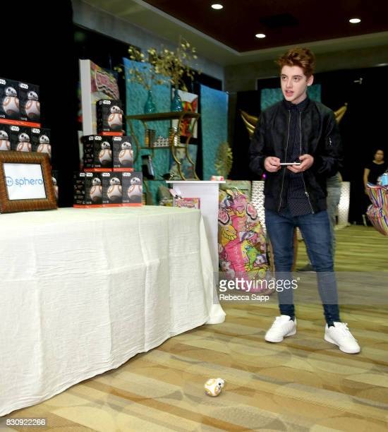 Thomas Barbusca at Backstage Creations Celebrity Retreat at Teen Choice 2017 Day 1 at Galen Center on August 12 2017 in Los Angeles California