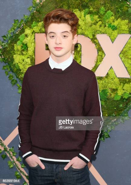 Thomas Barbusca attends the FOX Fall Party on September 25 2017 in Los Angeles California