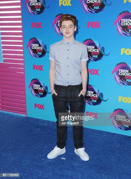 Thomas Barbusca attends the Teen Choice Awards 2017 at Galen Center on August 13 2017 in Los Angeles California