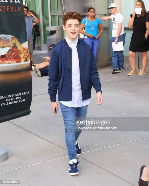 Thomas Barbusca is seen on July 11 2017 in Los Angeles CA