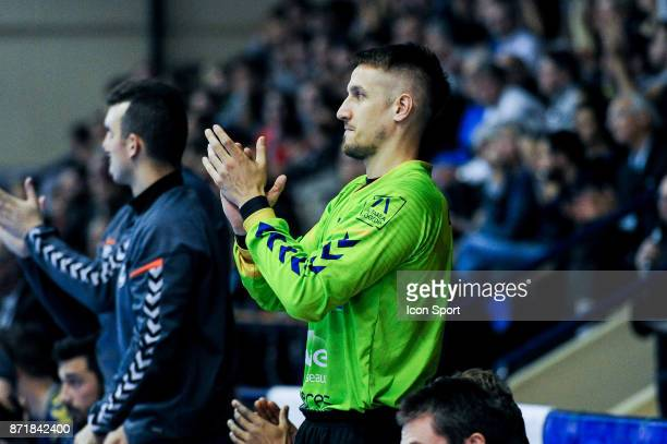 Thomas Bauer of Massy during the Lidl Starligue match between Massy and Chambery on November 8 2017 in Massy France
