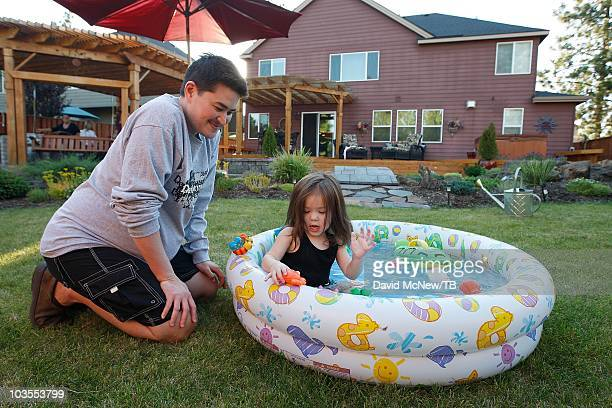Thomas Beatie and his wife Nancy go about daily life with twoyearold daughter Susan Juliette Beatie and oneyearold son Austin Alexander Beatie one...