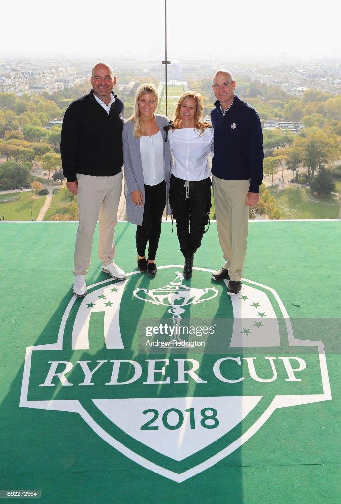 Ryder Cup 2018 Eiffel Tower Stunt