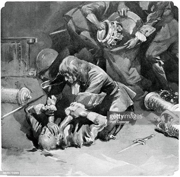 Thomas Blood attempting to steal the Crown Jewels from the Tower of London in 1671 Although Blood got his hands on the jewels the alarm was raised...