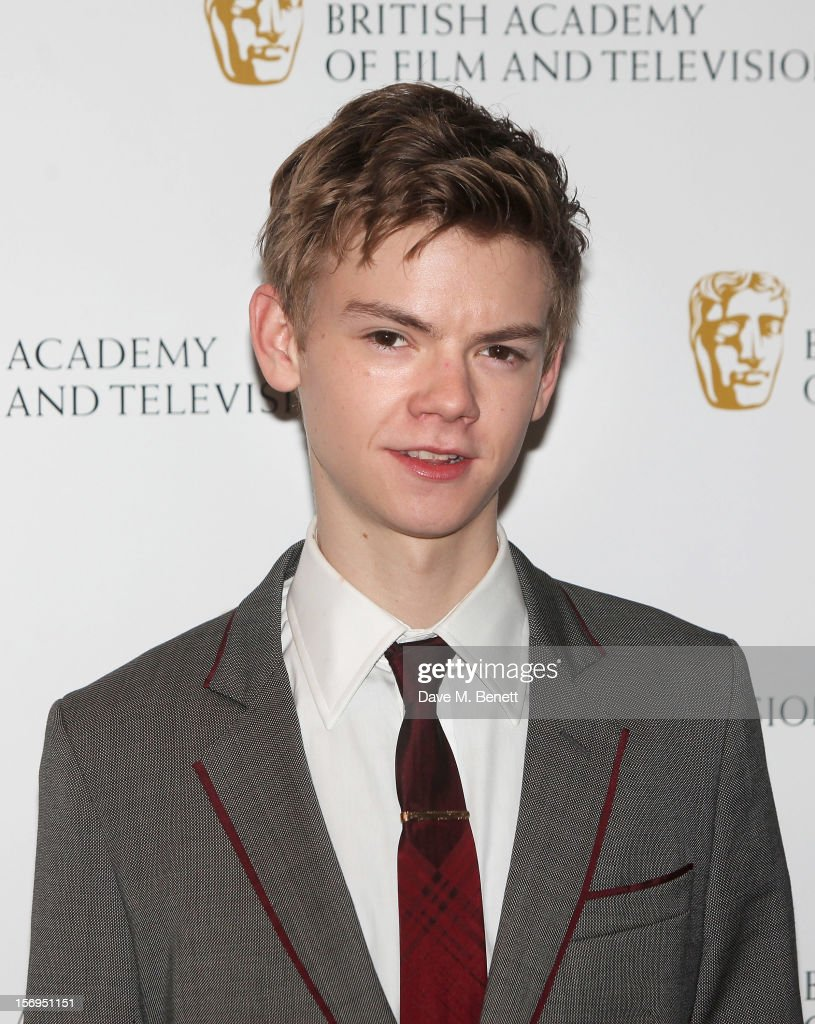Thomas Brodie Sangster arrives at the British Academy Children's Awards at the London Hilton on November 25, 2012 in London, England.