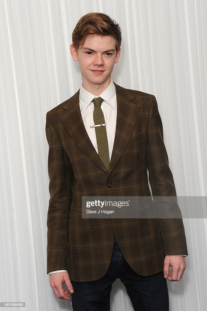 Thomas Brodie-Sangster attends the Jameson Empire Film Awards 2014 at The Grosvenor House Hotel on March 30, 2014 in London, England.