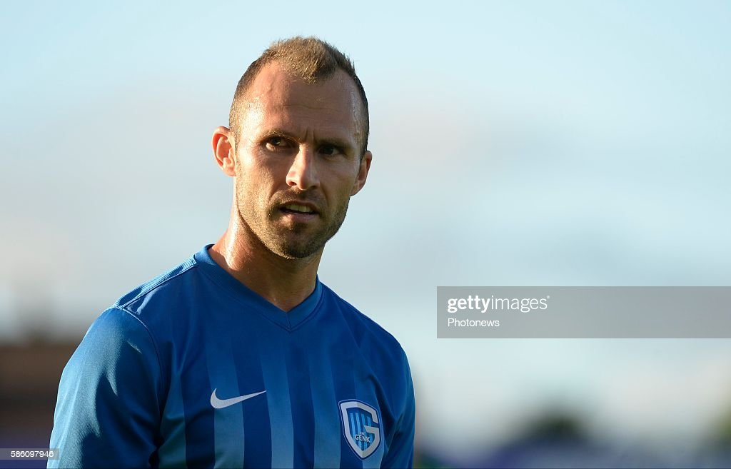 Thomas Buffel forward of Krc Genk pictured during UEFA Europa League third qualifying round 2nd Leg match between Cork City FC and KRC Genk on August...