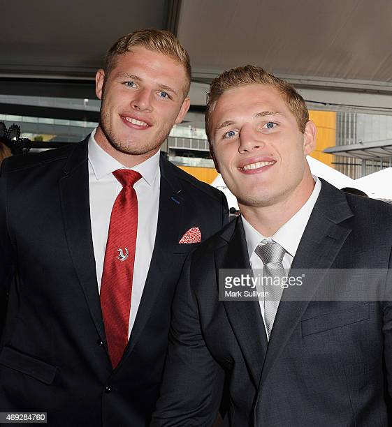 Thomas Burgess and George Burgess during The Championships day 2 at Royal Randwick Racecourse on April 11 2015 in Sydney Australia